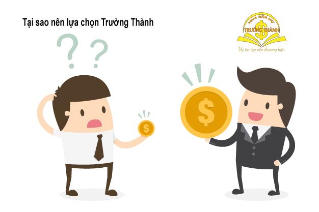 Lý do để chọn dịch vụ mua bán nợ Trường Thành